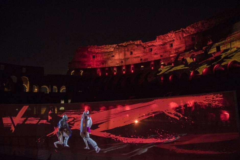 Sangue e Arena. Show no Coliseu de Roma