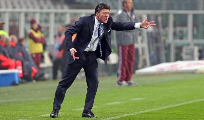 Walter Mazzarri durante Torino-Inter