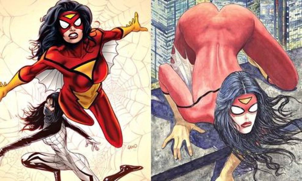 Manara disegna Spider-woman, protesta negli Usa: troppo hot