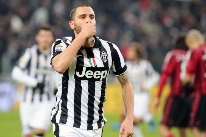 Leonardo Bonucci, quando segnava contro il Milan | numerosette.eu