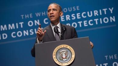 """L'appello di Obama ai big dell'hi-tech """"Serve Grande Alleanza anti-hacker"""""""