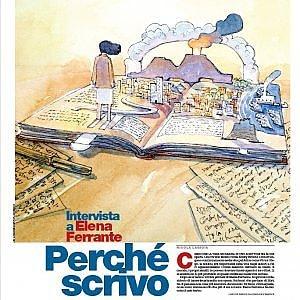 """Su """"La Domenica"""" di Repubblica Lagioia intervista Elena Ferrante"""