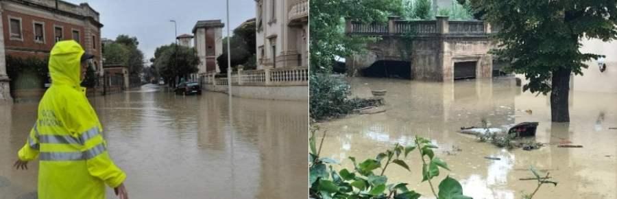 """Livorno, nubifragio e frane: 6 morti e 2 dispersi · video dall'alto Un'intera famiglia fra le vittime. Sindaco: """"Città devastata"""" · foto"""