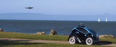 L'autovelox con le ruote: ecco l'auto senza pilota che fa operazioni di pattuglia
