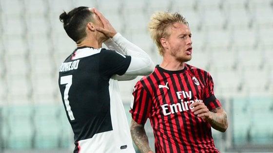 Coppa Italia, Juventus-Milan 0-0: Ronaldo sbaglia un rigore ma i ...