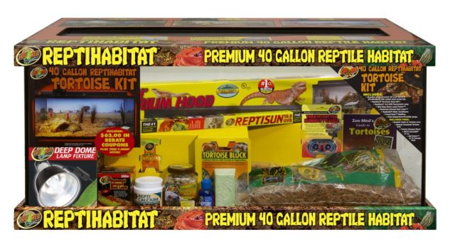 Zoo Med Reptile Kit for Tortoises