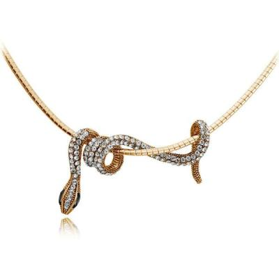 snake choker necklace - reptile gifts for Christmas