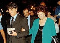 ansa 4741065 55270 Roma ladrona: 800mila euro alla Lega per la scuola della moglie di Bossi