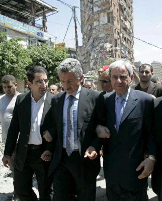 <B>Beirut, D'Alema con un deputato Hezbollah</B>