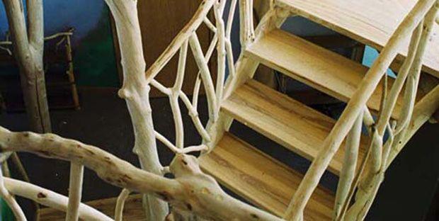 Una splendida idea roald architetto della foresta gli alberi invadono il salotto - Architetto arreda ...