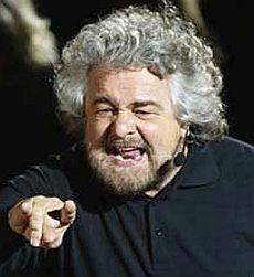 <B>Ecco i blogger più potenti del mondo<br>tra i primi dieci anche Beppe Grillo</B>