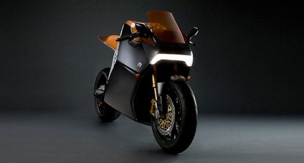 <B>Mission One, moto elettrica</B>