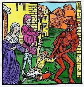 """<B>""""Non se ne parla ma l'Inferno c'è""""<br>Ratzinger: pene eterne per chi non si pente  </B>"""
