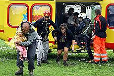 Maltempo, due vittime in Lombardia In Valtellina evacuate 300 persone