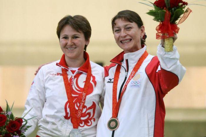 Georgia-Russia, abbraccio sul podio