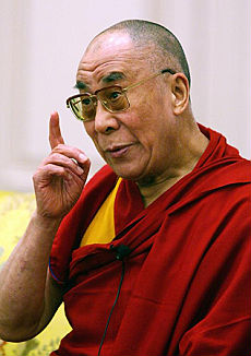 """Il Dalai Lama accusa la Cina """"Violata la tregua olimpica"""""""