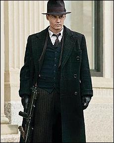 Johnny Depp diventa Dillinger gangster-eroe dell'America in crisi