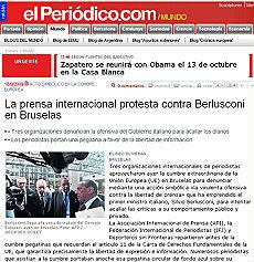 """Giornalisti stranieri all'attacco di Berlusconi """"Virulenta offensiva contro la libertà di stampa"""""""