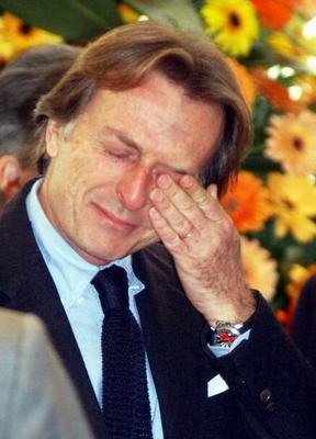 Defiant: Ferrari boss Luca di Montezemolo