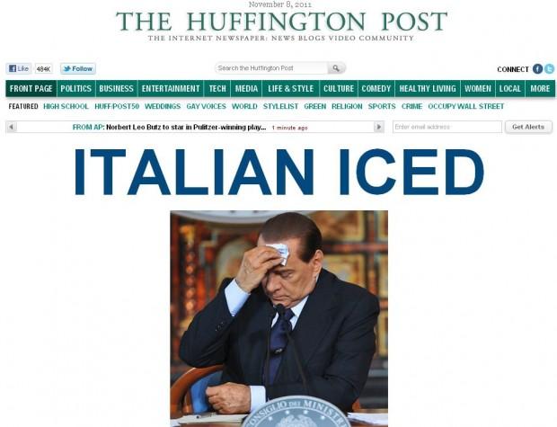 Berlusconi annuncia dimissioni: i siti stranieri