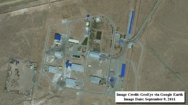 Iran, base missilistica distrutta: prima e dopo l'esplosione
