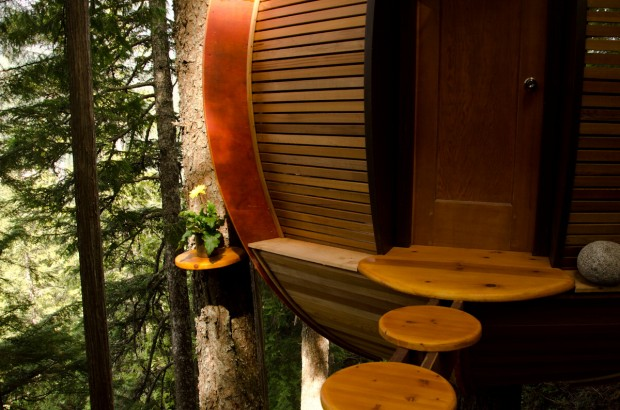 Canada, la casa sull'albero: un loft extra-lusso