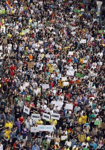 Indignados e Occupy tornano nelle piazze