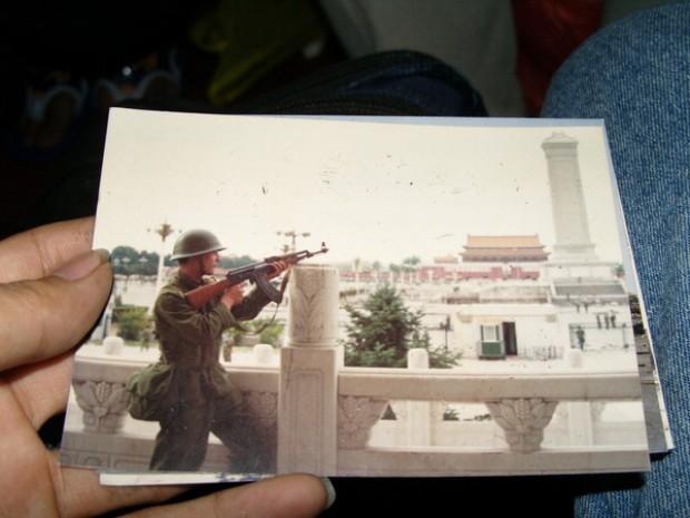 Tienanmen, sul web gli scatti inediti dei soldati
