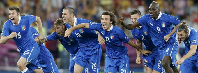 ITALIA, L'HAI MERITATA. ORA LA GERMANIA     Ai rigori 4-2 agli inglesi -   Fotoracconto  -  Rigori