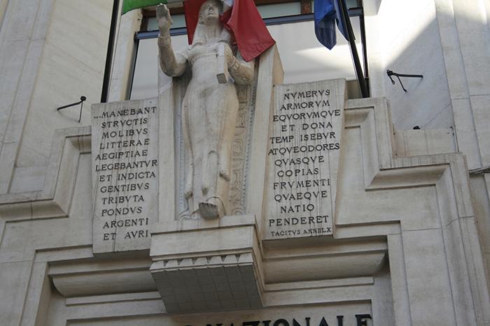 Roma, Istat rimandata in latino: gli errori sulla facciata