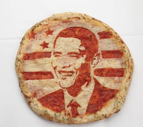 Pizza star: i divi disegnati sulla margherita