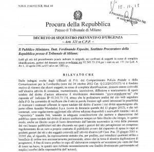 Mondadori affonda i web pirati dei giornali. Il Tribunale equipara gli utenti a ricettatori
