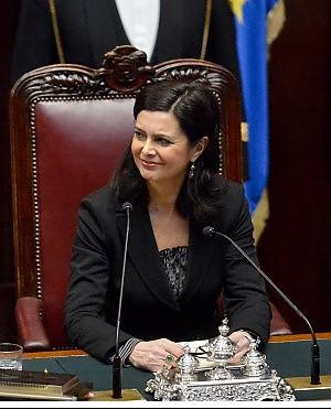 """Camera, Laura Boldrini eletta presidente. """"Arrivo qui dopo anni trascorsi con gli ultimi"""""""