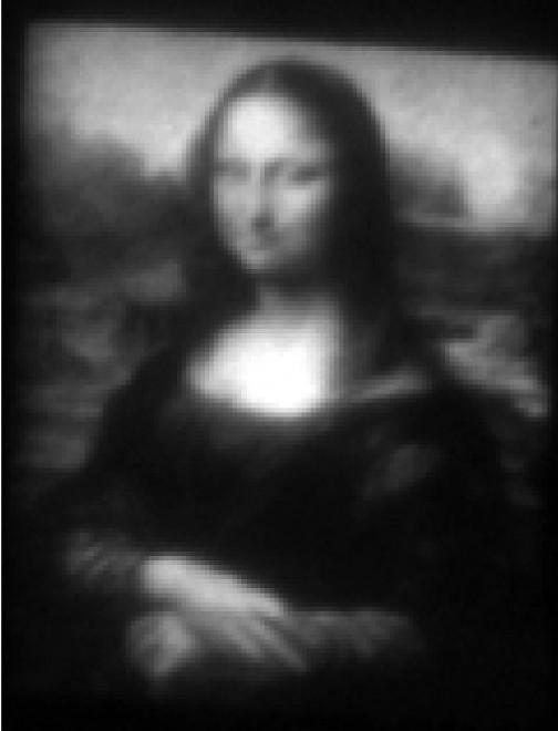 """La Gioconda al microscopio: creata una """"Mini Lisa"""""""