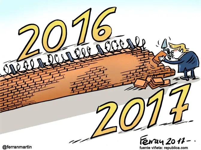 Resultado de imagen de 2017 viñetas
