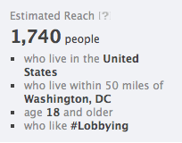 "Facebook: People Who Work In Congress ""Like"" Lobbying"