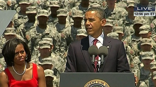 A Good Day: Obama Stands With Troops Instead of Wealthy Predatory Colleges