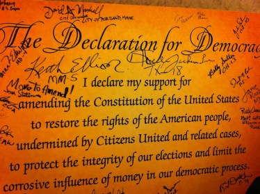 Lawmakers Unite With Activist Groups To Press For Constitutional Amendment On Citizens United