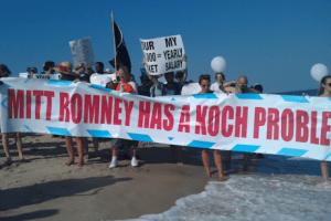 Mitt Romney Koch fundraiser