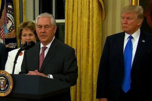 Trump, Tillerson, Exxon: American Kleptocracy