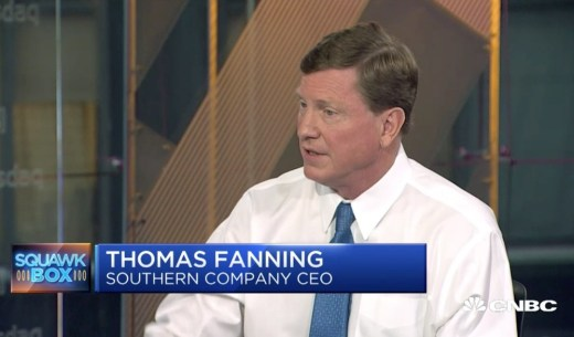 Southern Company CEO and Edison Electric Institute Chairman Tom Fanning's Climate Change Denial