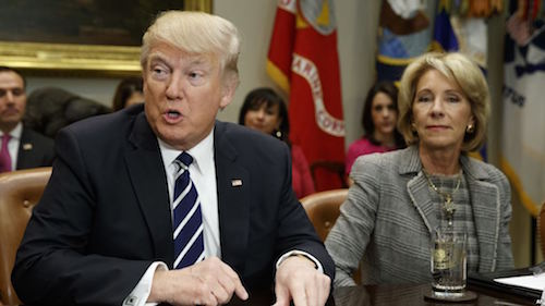 Advocates Demand Devos Protect Students >> Betsy Devos Had A Plan To Prop Up For Profit College Cronies It S