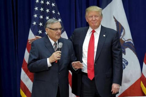 Trump Terrible 10: Arpaio Impunity Edition