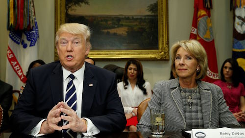 Devos Says Federal Idea Mandates Piled >> New Trump Devos Loan Relief Rule Trashes Students Rights Aids