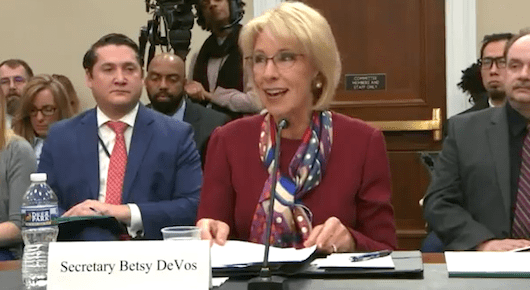 DeVos Hiring Consultant To Figure Out Why Morale Is Low. Really?