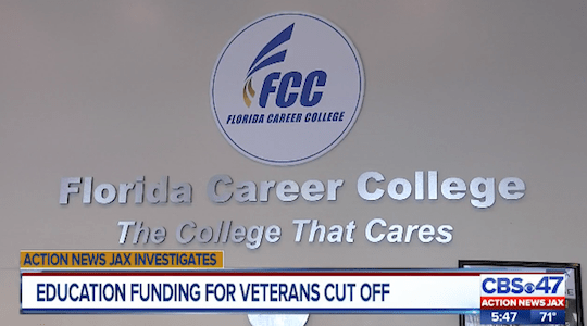 Vets Say For-Profit School Didn't Warn Them GI Bill Funding Was Threatened, and Now It's Gone