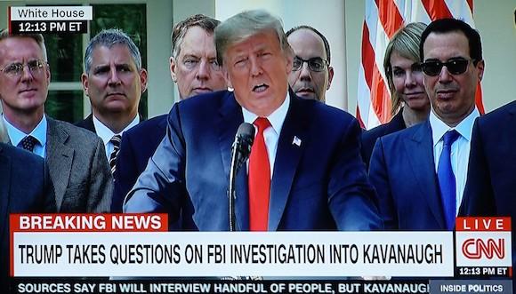 Trump Terrible 10: Kavanaugh Kloture Kanye Edition