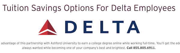 Why Is Delta Air Lines Steering Its Employees to Predatory Ashford University?