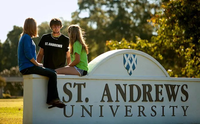 Is Arthur Keiser in Charge at St. Andrews University?