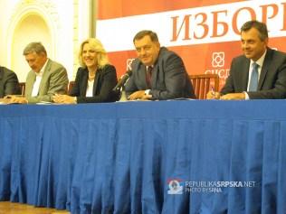 Састанaк руководства СНСД-а са кандидатима странке